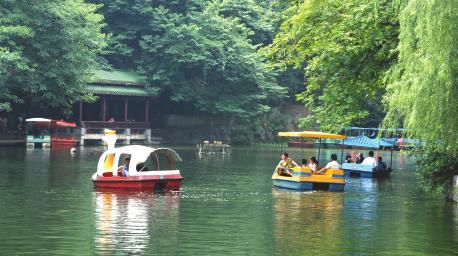 邵阳城南公园风景