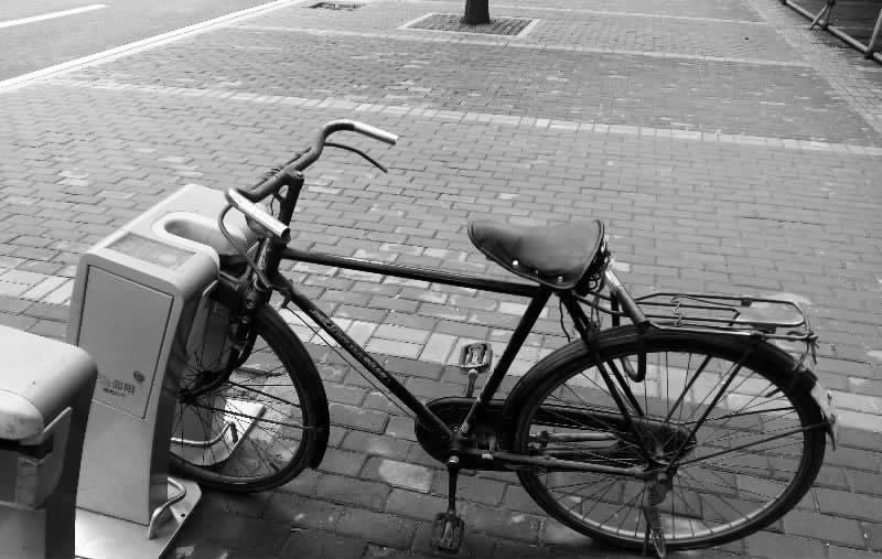 私家自行车鸠占鹊巢