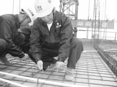 钢筋工建筑图纸