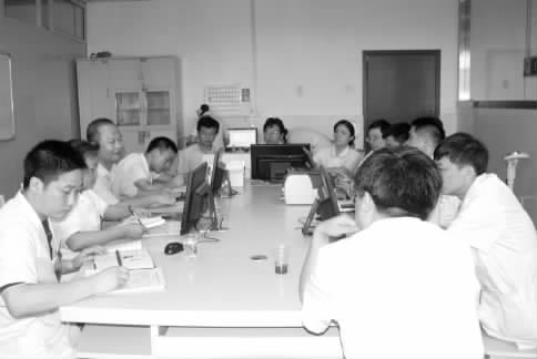 06 民生新闻 邵阳市一人民医院 新组建的两个住院科室召开专题会议