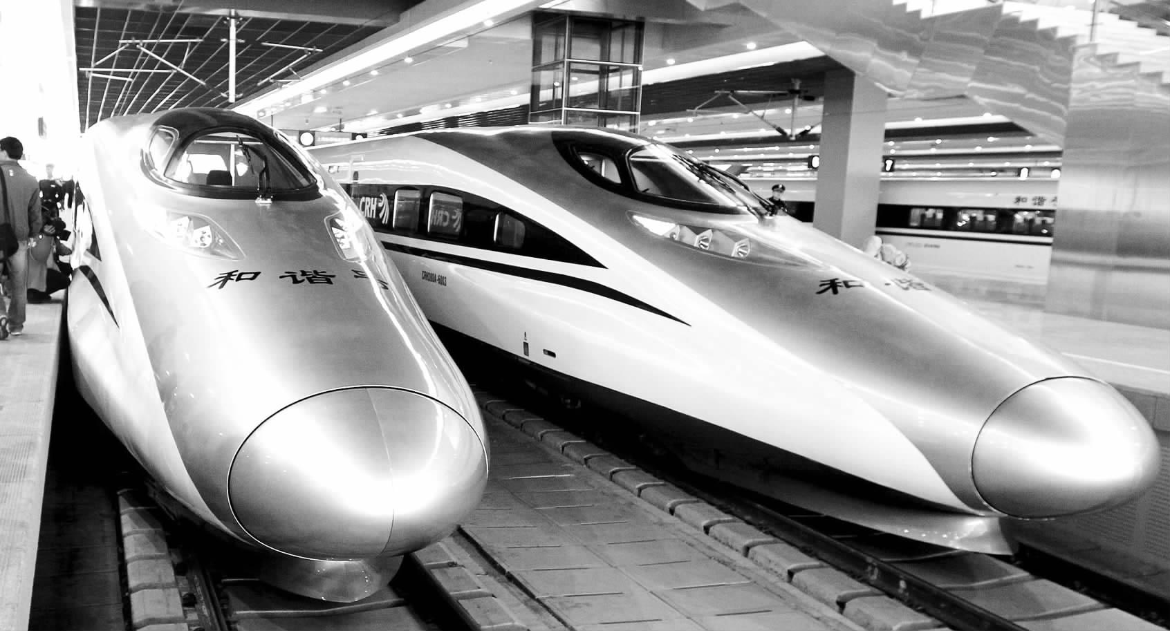 沪杭高铁连接上海至杭州及周边城市群