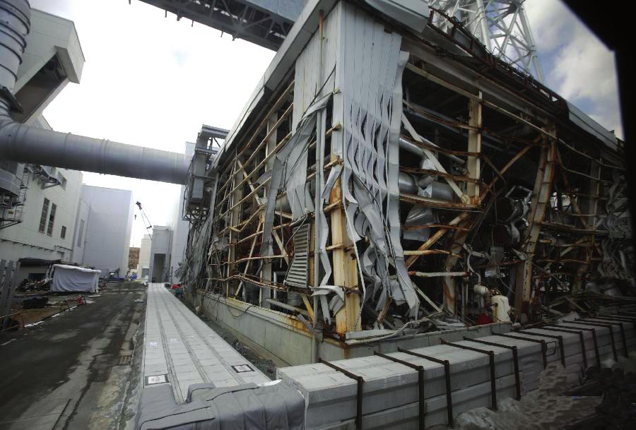 福岛核电站采访见闻