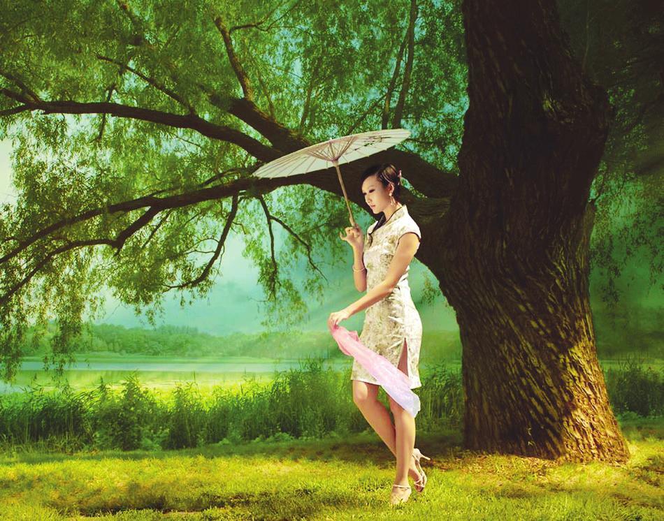 春风又绿我家乡(三)春天踏青是生命和自然的礼赞