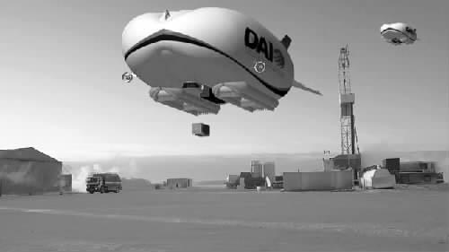 美国研发新型货运飞艇
