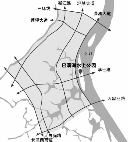 湘江长沙段有15个江心洲除了橘子洲和月亮岛 ,湘江长沙段还有13个