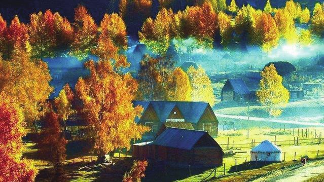 """有""""童话世界""""之誉;九寨沟为全国重点风景名胜区 ,并被列入世界遗产名"""