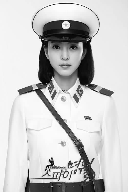 韩剧 间谍明月 的人物海报 高清图片