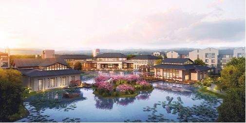 其中 ,泰康之家·吴园位于江苏省苏州阳澄湖半岛核心区域 ,占地约31万